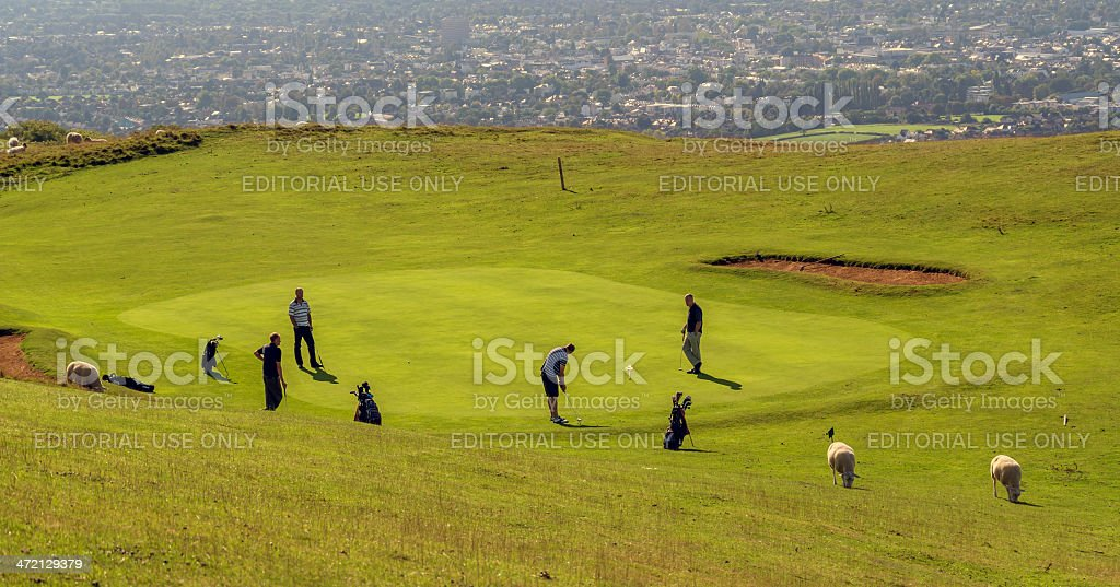 golf course royalty-free stock photo