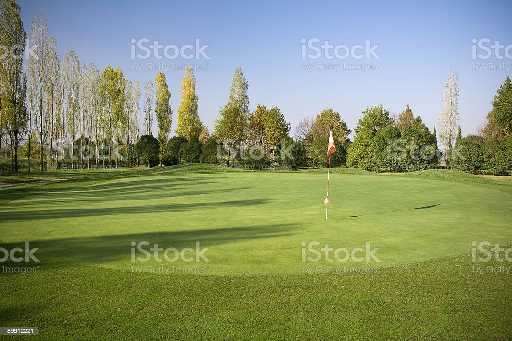 Golf court stock photo