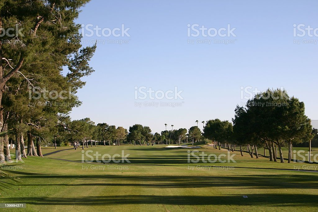 Golf Couse Fairway stock photo
