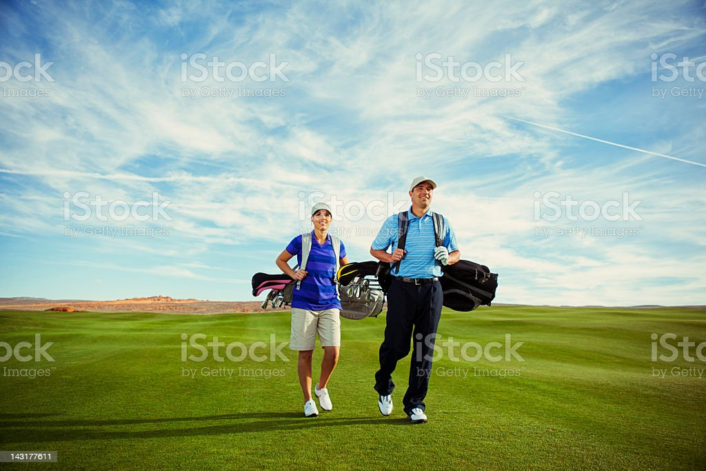 Golf Day stock photo