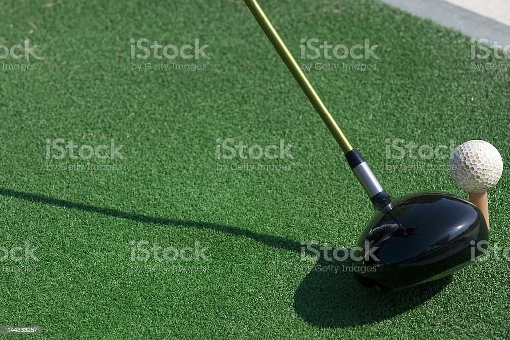 Golf driver stock photo