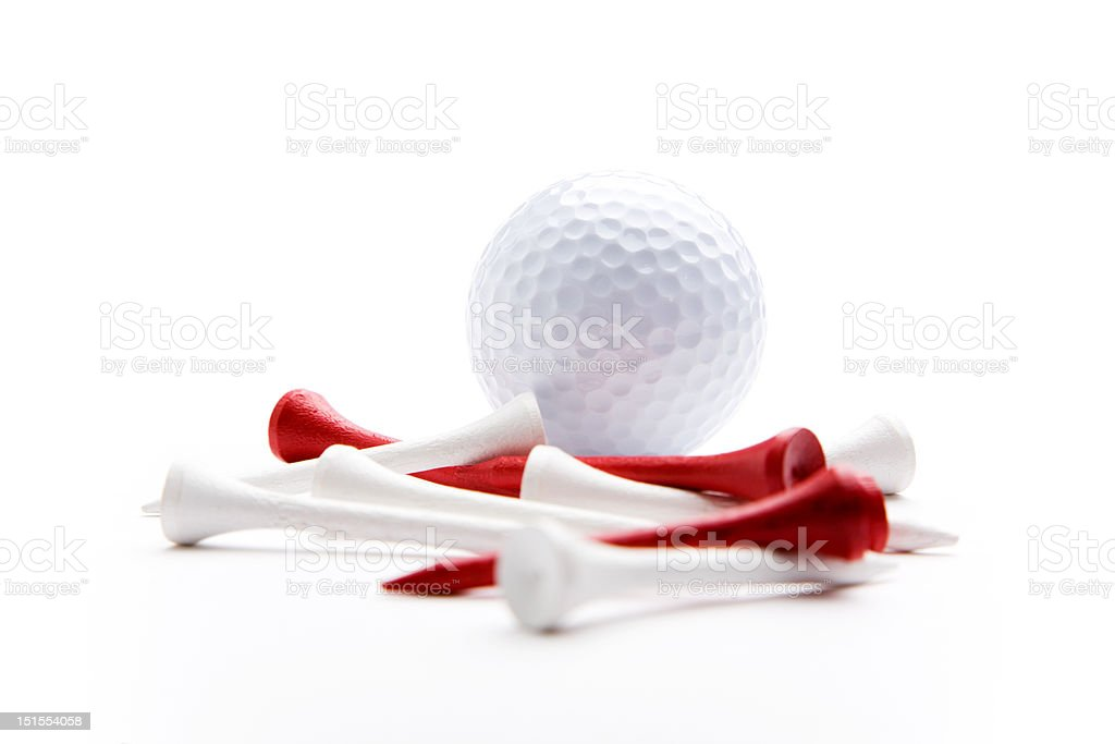 Golf equipment royalty-free stock photo