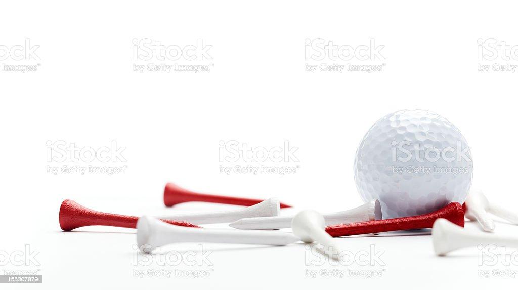 Golf equipment royalty-free stock photo