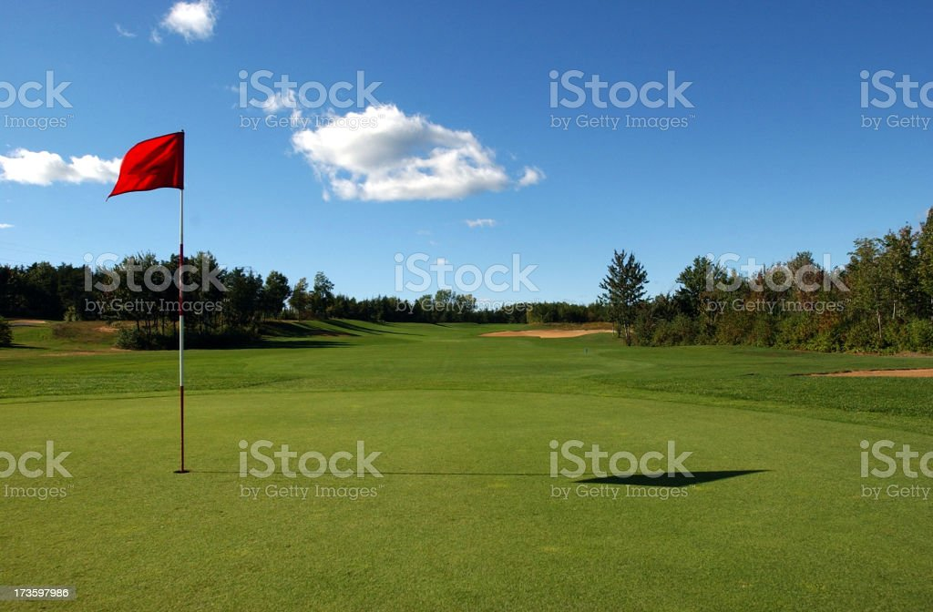 golf field3 stock photo