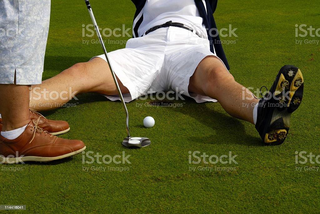 Golf Fun stock photo