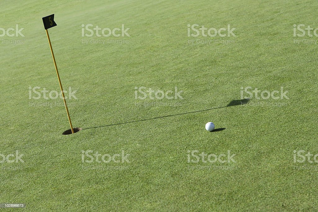 Golf game royalty-free stock photo