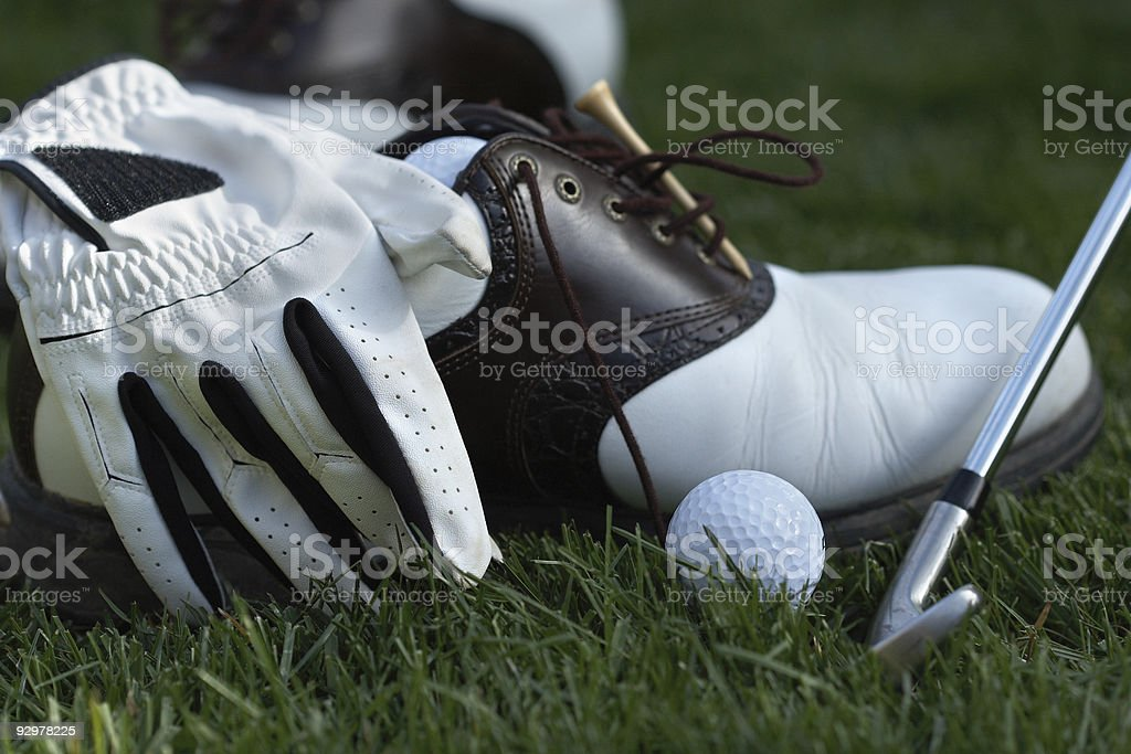 golf gear royalty-free stock photo
