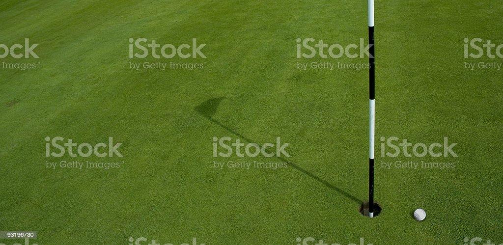 Golf - It's A Birdie? royalty-free stock photo