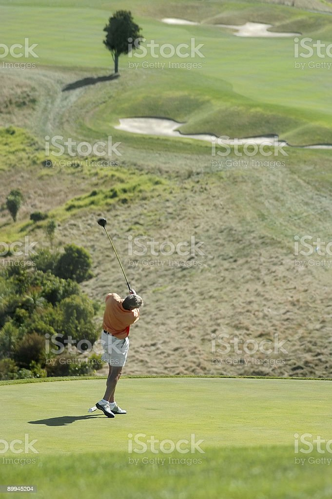 Golf - Off The Tee royalty-free stock photo