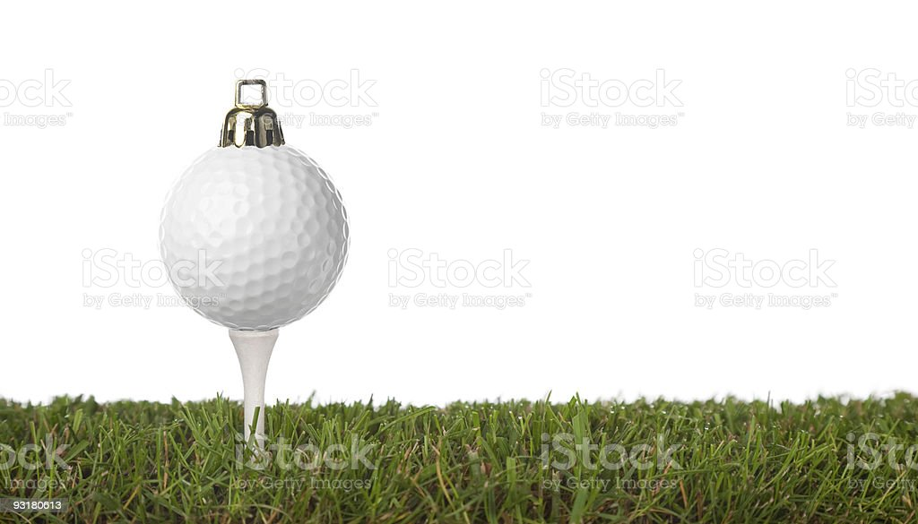 golf ornament royalty-free stock photo