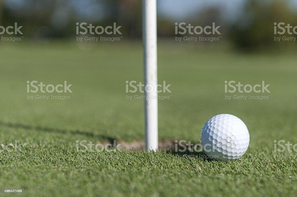 Golf Passion stock photo