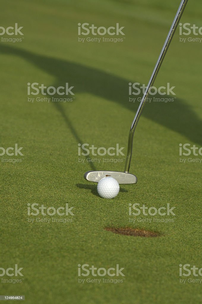 Golf stock photo