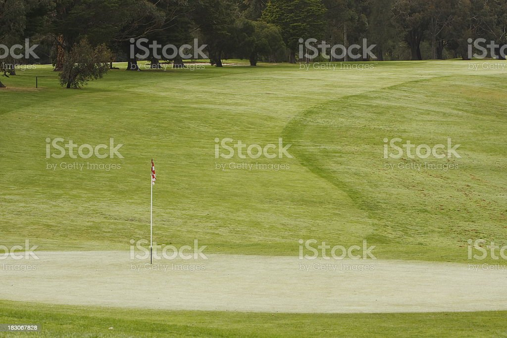 Golf royalty-free stock photo