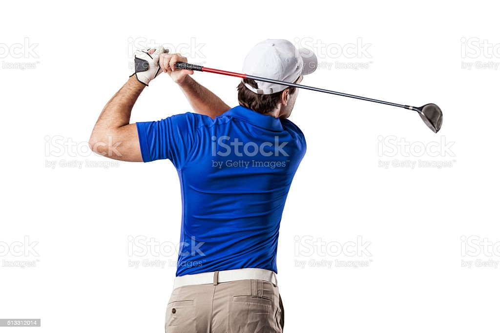Golf Player stock photo