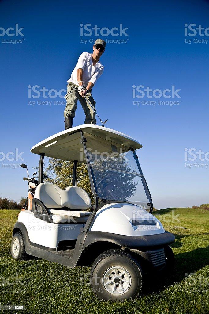 golf punk royalty-free stock photo