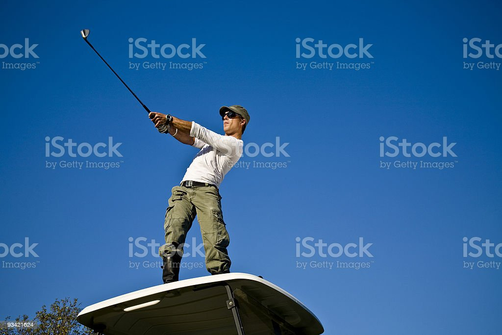 golf punk royalty-free stock photo