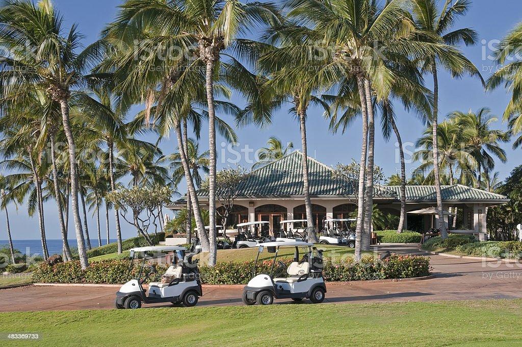 Golf Resort stock photo
