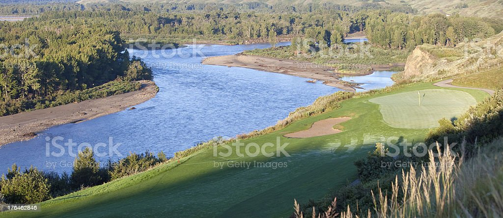 Golf Scenic royalty-free stock photo
