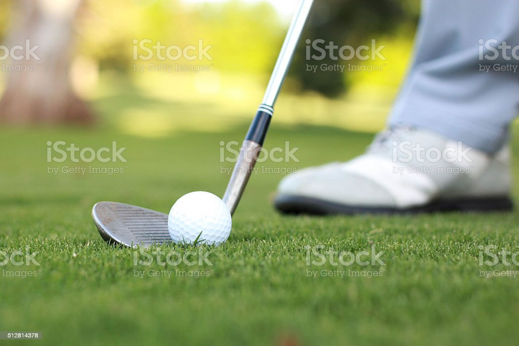 Golf Series - 1 stock photo