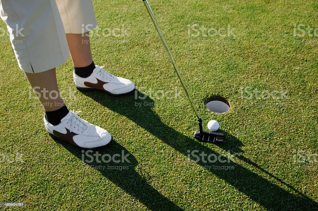 Golf serie stock photo