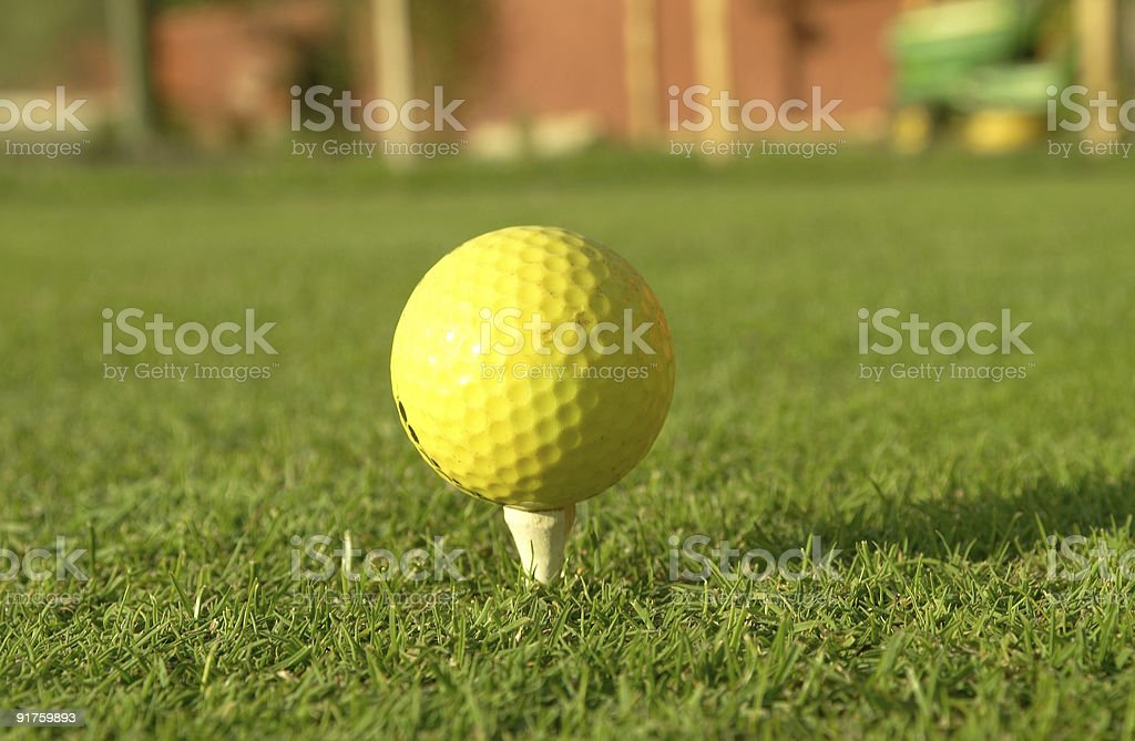 Golf Series stock photo
