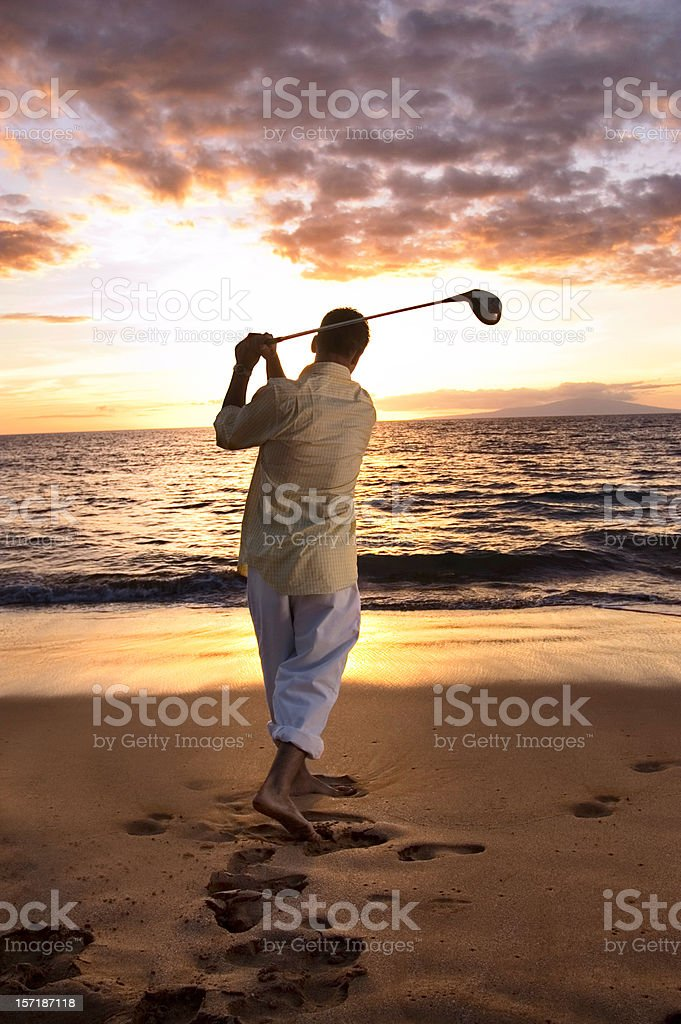 Golf Session royalty-free stock photo