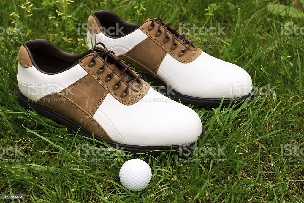 Golf Shoe royalty-free stock photo