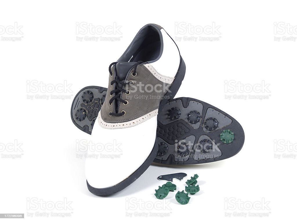 Golf Shoes royalty-free stock photo
