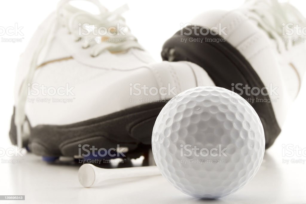 Golf time stock photo