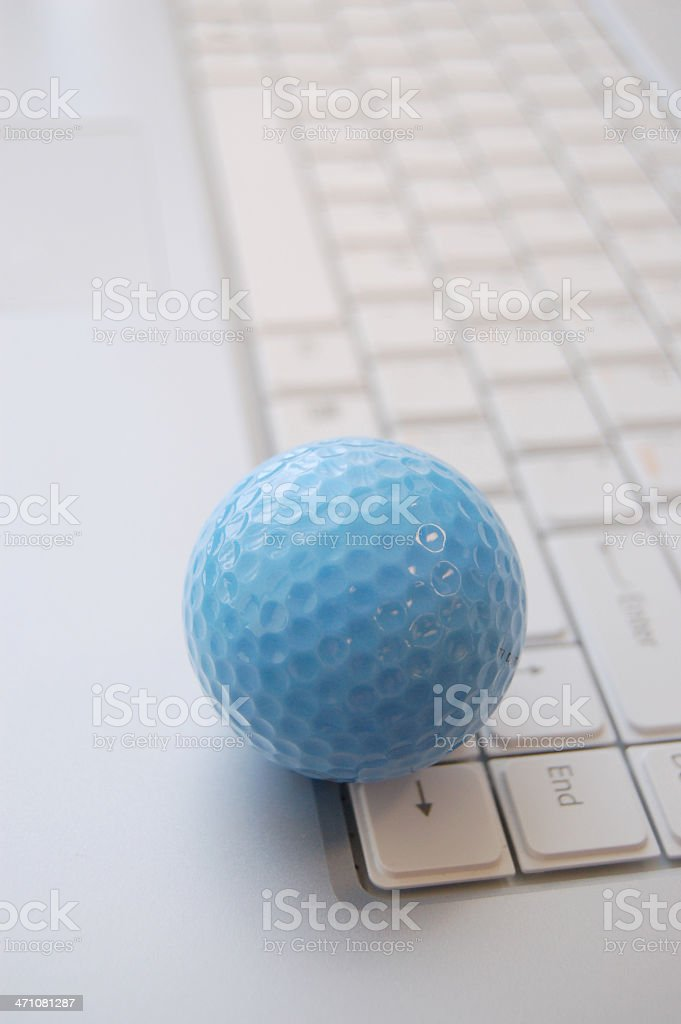 Golf time yet royalty-free stock photo