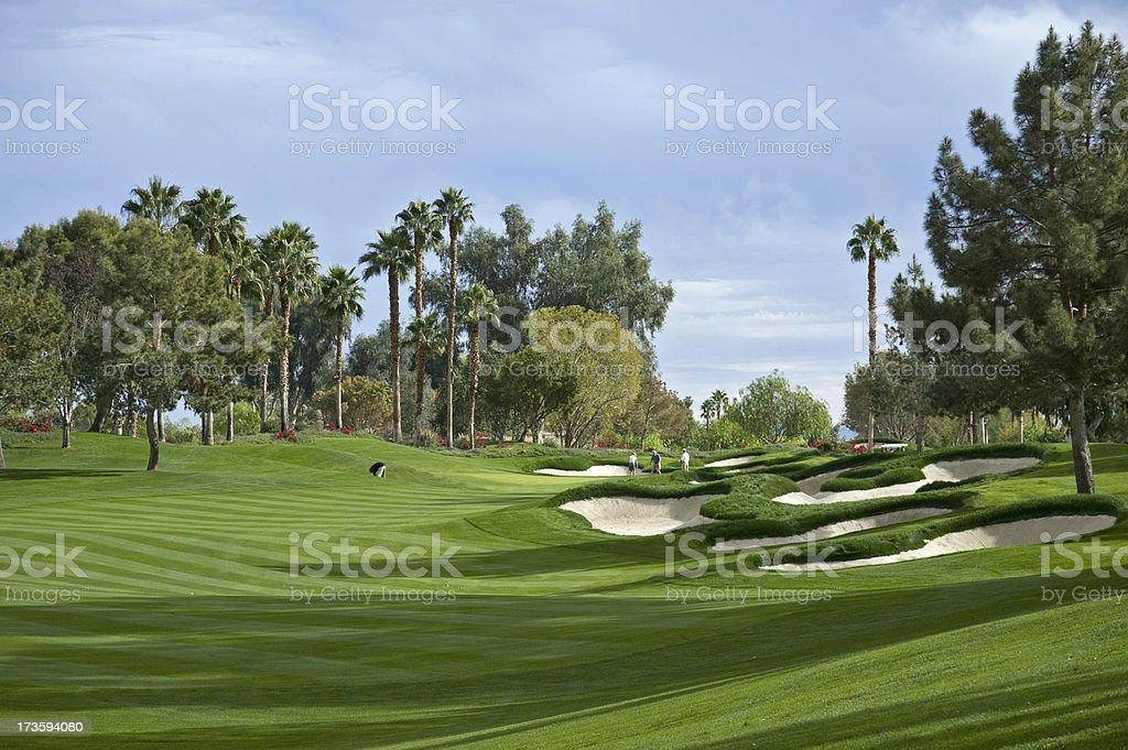 Golf Venue royalty-free stock photo