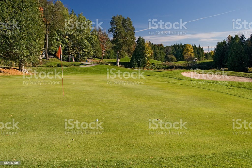 golf view 04 royalty-free stock photo