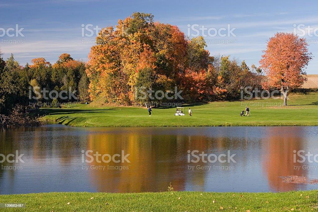 golf view 06 stock photo