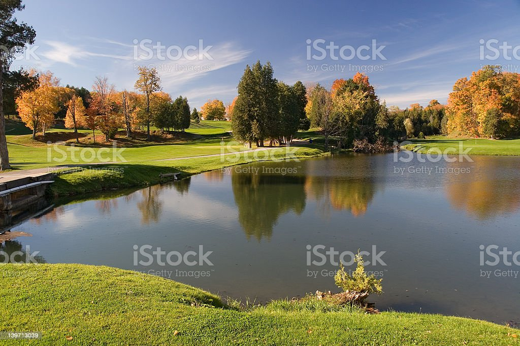 golf view 09 royalty-free stock photo
