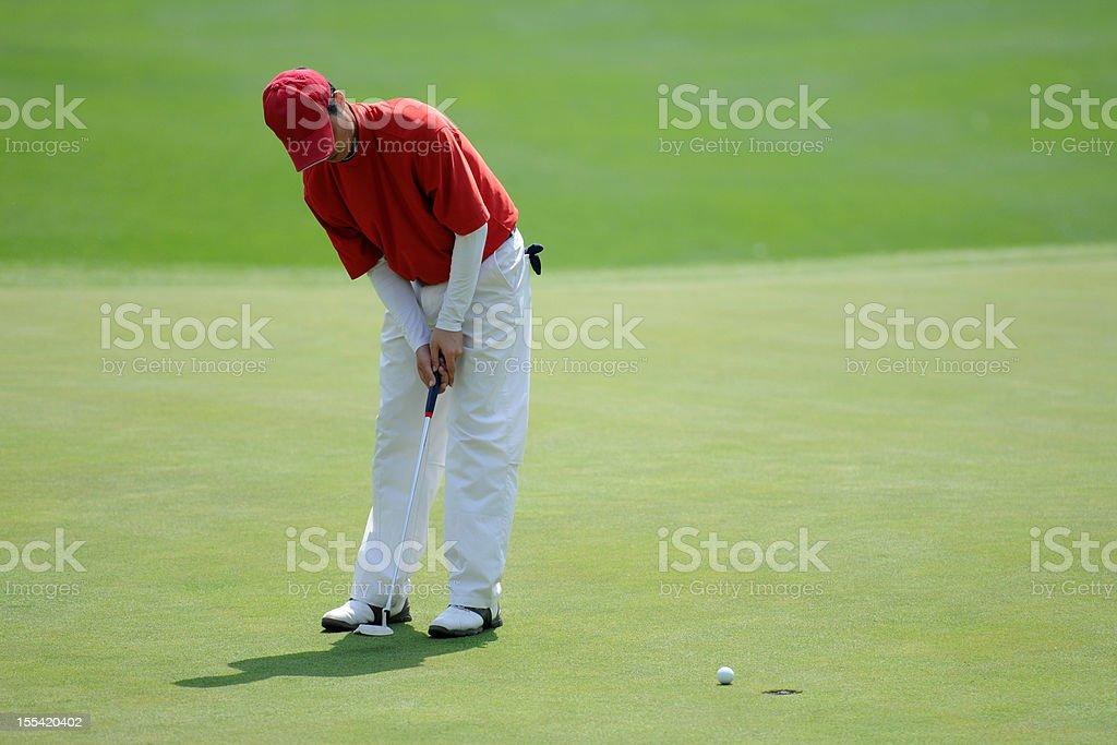 Golf Winner - XLarge stock photo