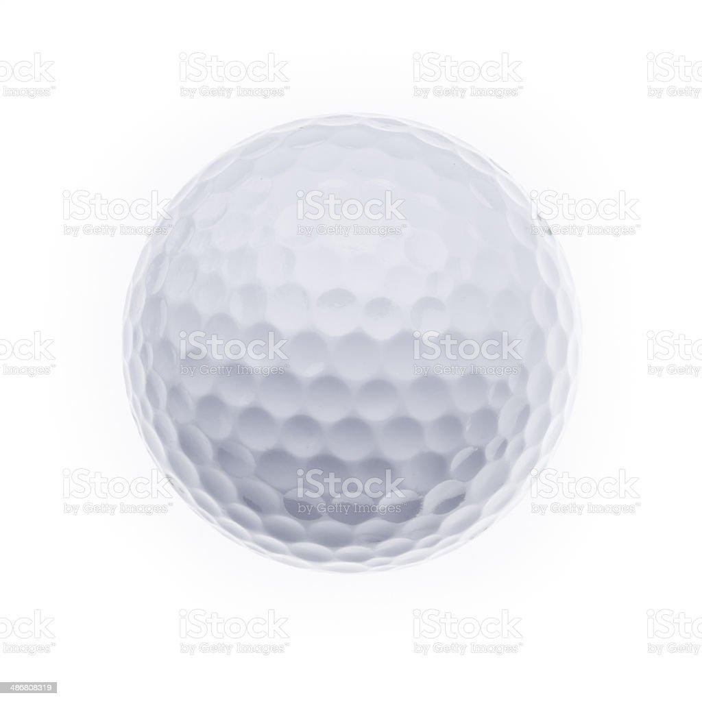 Golfball foto de stock libre de derechos
