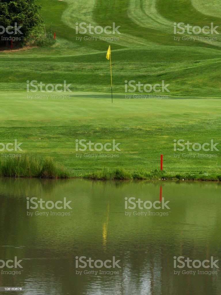 Golfcourse royalty-free stock photo