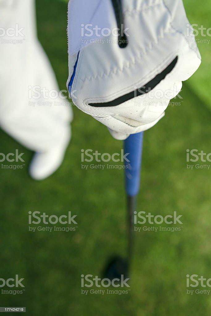 golfer glove stock photo
