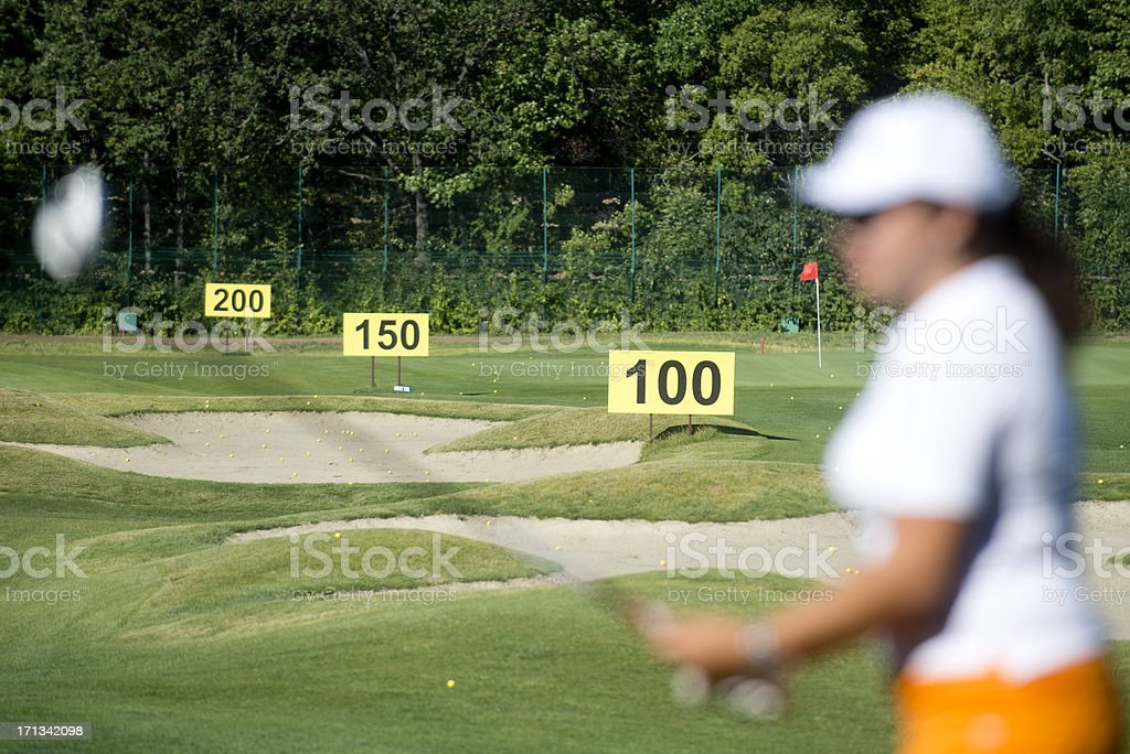 Golfer royalty-free stock photo