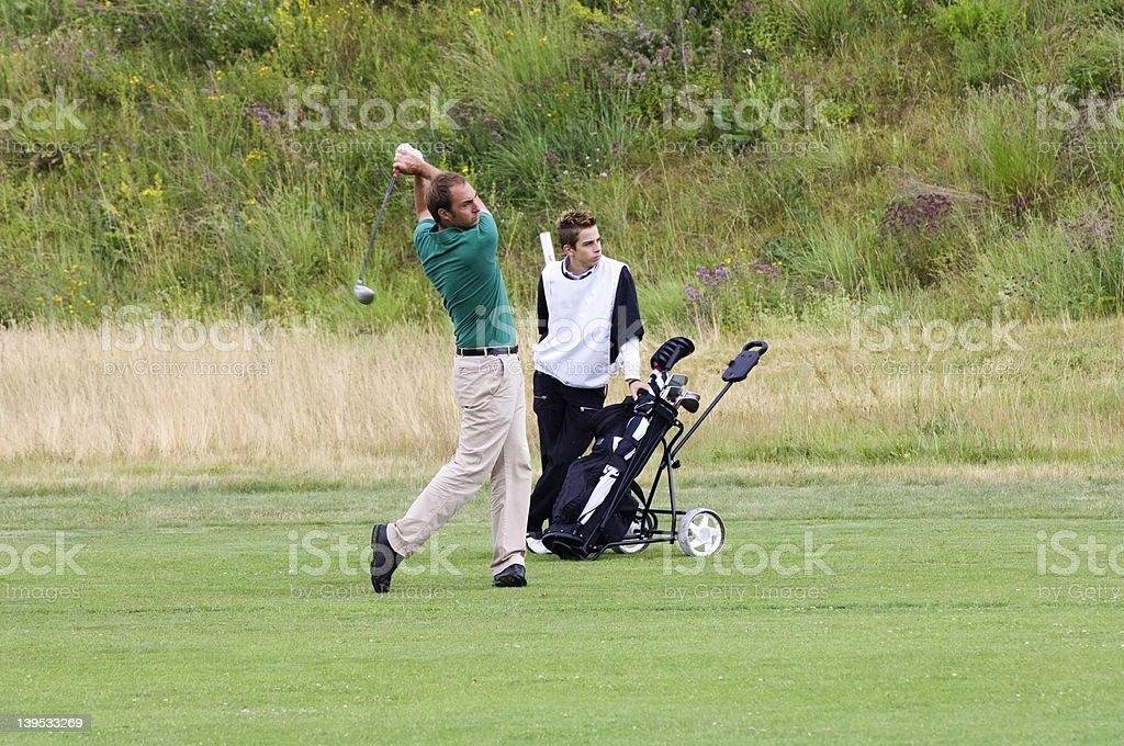 golfer_05 stock photo