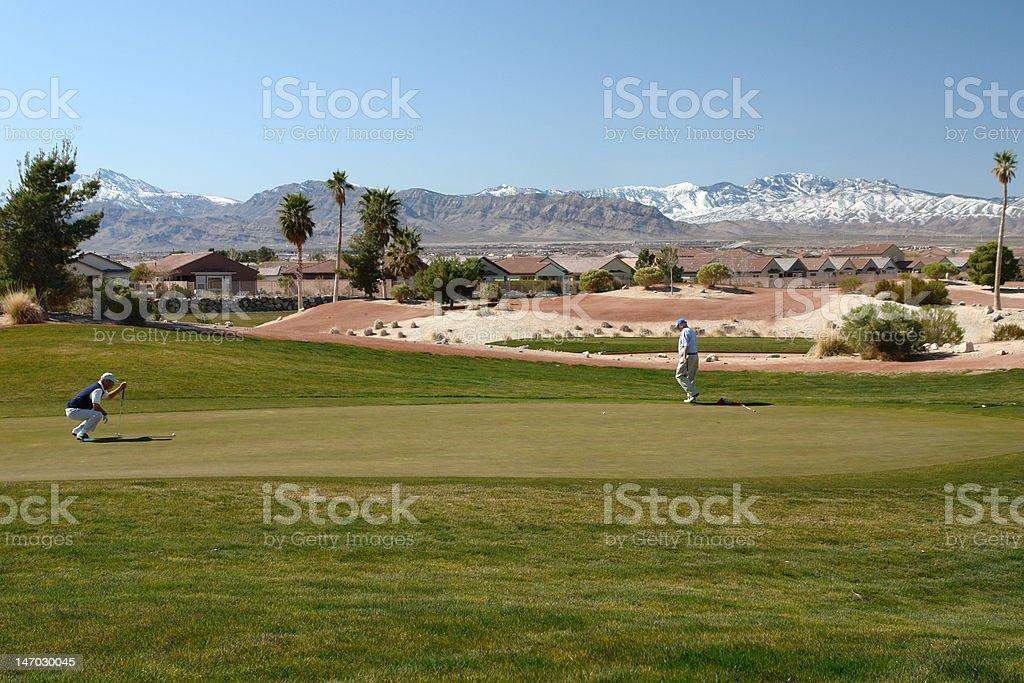 golfers royalty-free stock photo