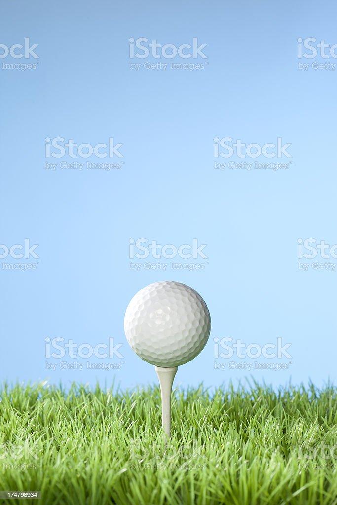 Golfing concept series stock photo