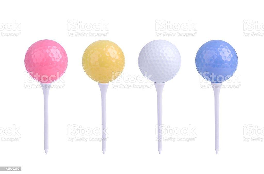 Golfing (XXL) royalty-free stock photo