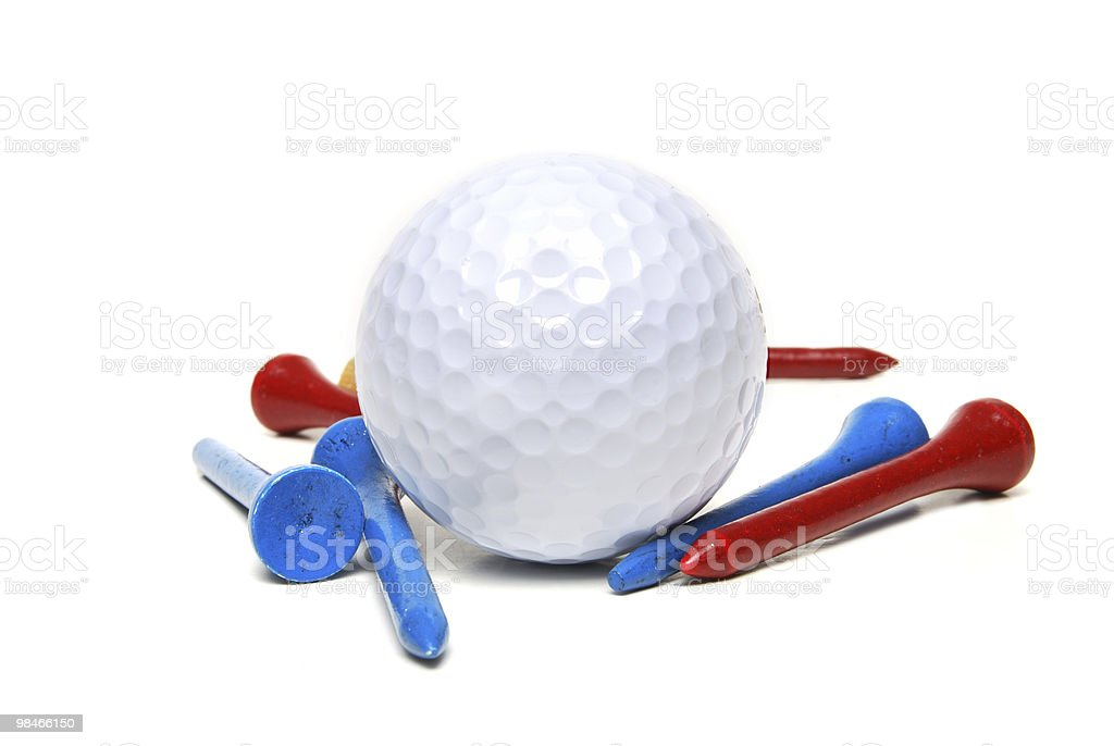 golfing stuff stock photo