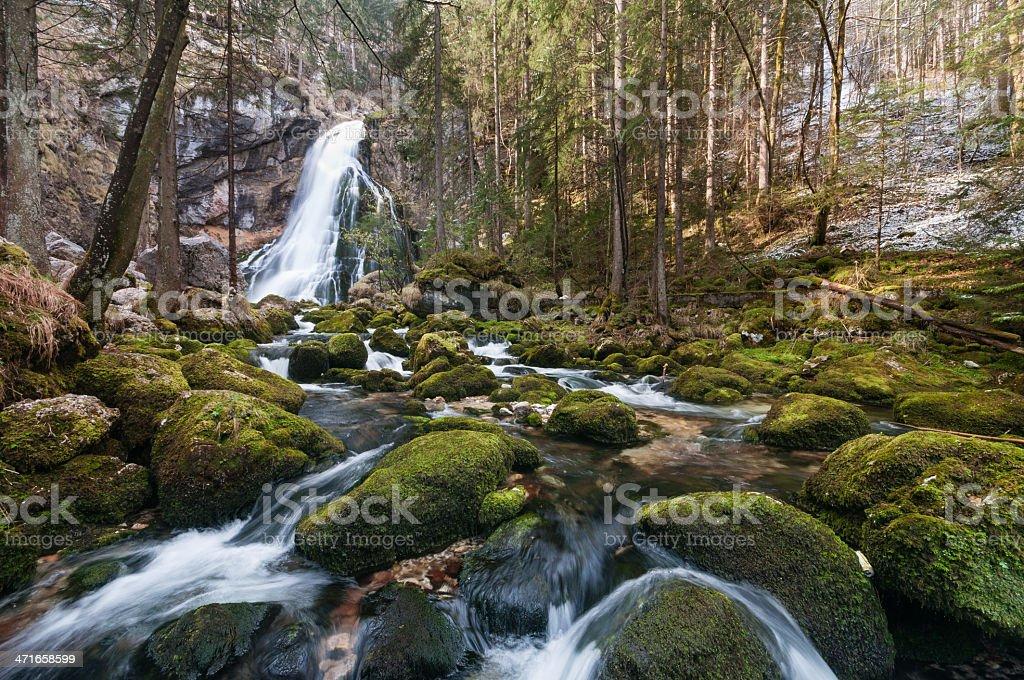 Golling Waterfall stock photo
