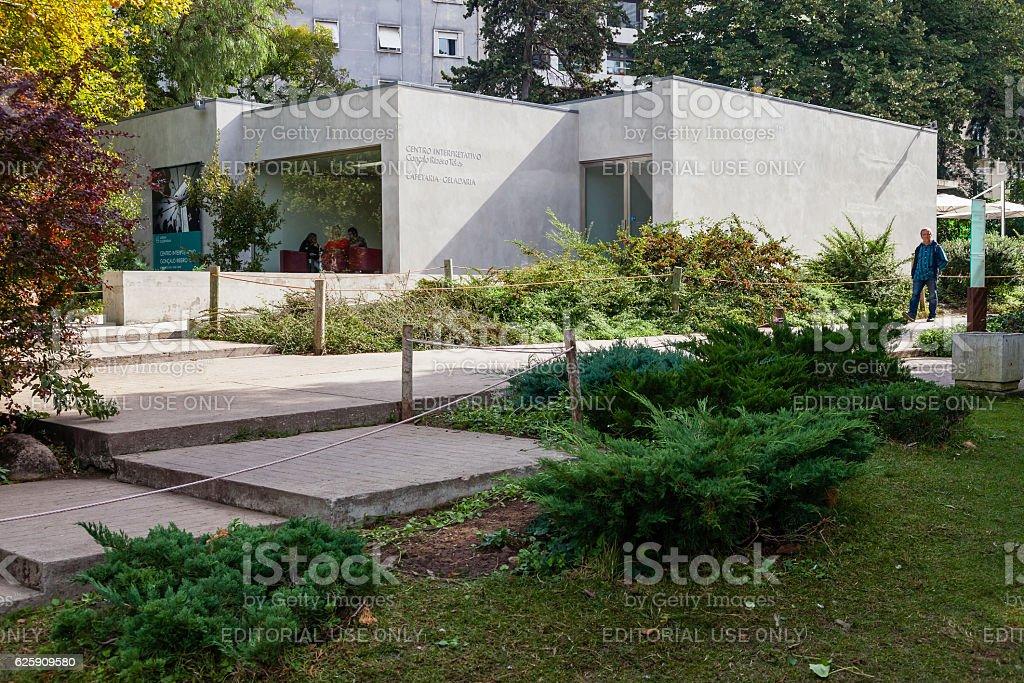 Goncalo Ribeiro Teles Interpretative Centre stock photo