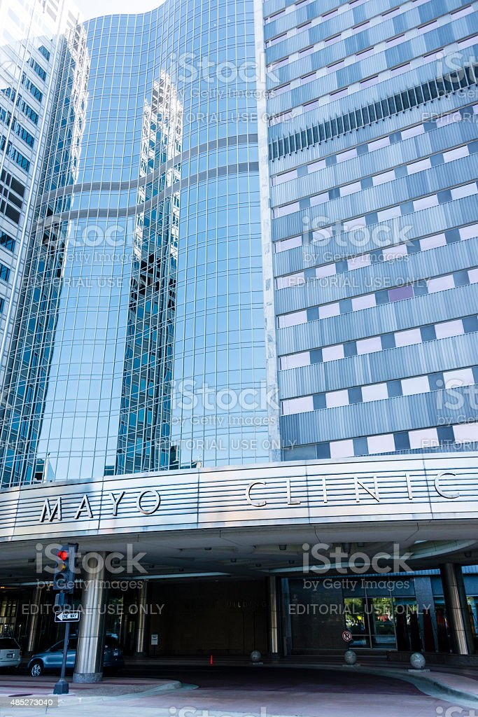 XXXL: Gonda Building of the Mayo Clinic in Rochester, MN stock photo
