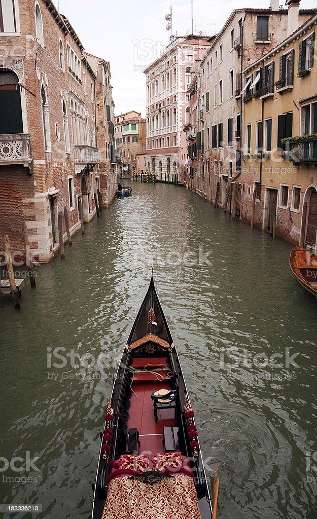 Gondala at Venice, Italy royalty-free stock photo