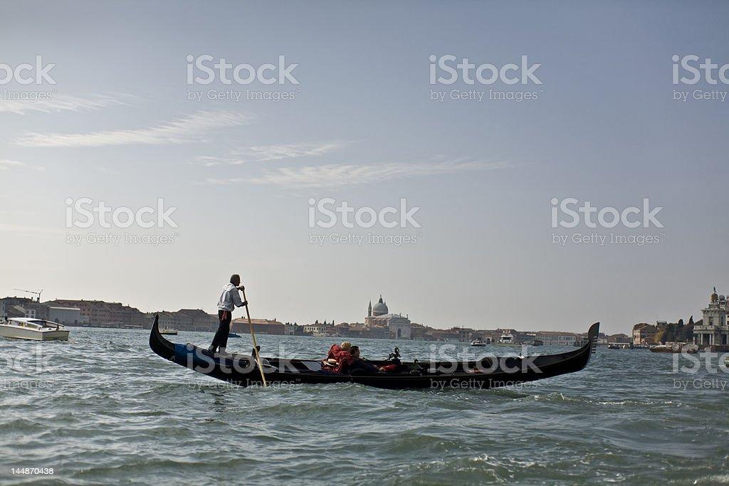 Gondola in Venice, Italy. royalty-free stock photo