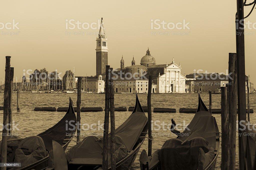 Gondola in Venice, Italy royalty-free stock photo